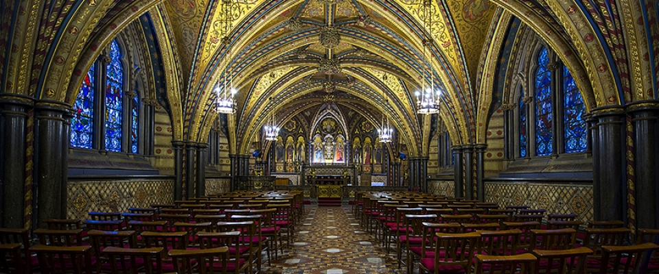 27 Chapel Of St Mary Undercroft House Of Parliament 2