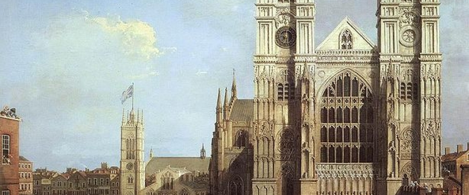 614px Westminster Abbey By Canaletto 1749
