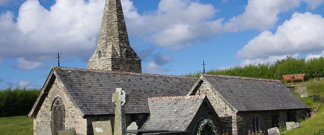 St Enodocs Church Trebetheric Cornwall 01