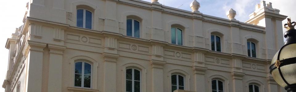 Stucco Facade