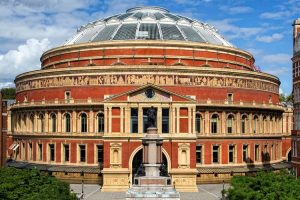 The Albert Hall made from Fareham Red Bricks